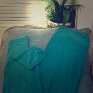 LuLaRoe teal leggings